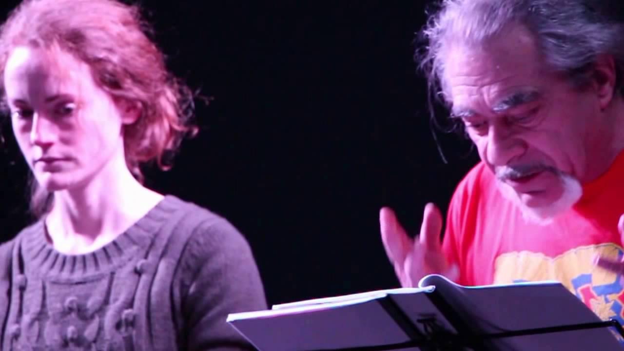 piece de theatre lecture diluvius bruno leydet